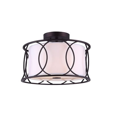Tadwick 2-Light Semi Flush Mount
