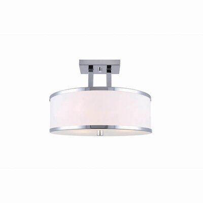Odriscoll 3-Light Semi Flush Mount