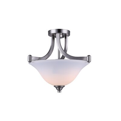Margaret 2-Light Semi Flush Mount