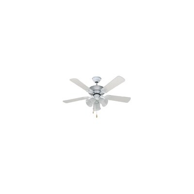 42 Marian 5 Blade Ceiling Fan Finish: White with White Blades