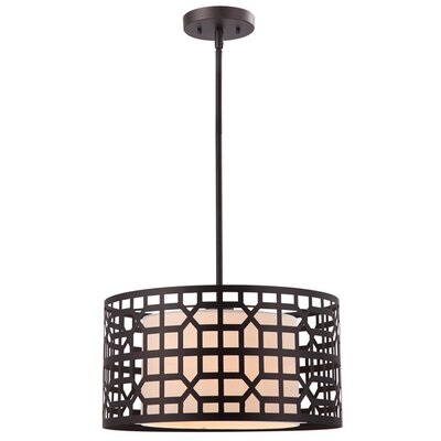 Rowe 1-Light Drum Pendant