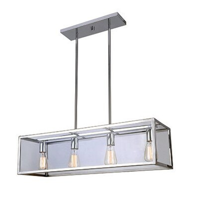 Oksana 4-Light Kitchen Island Pendant