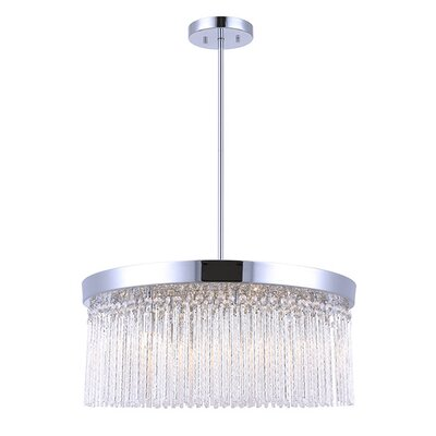 Harrell 6-Light Crystal Chandelier