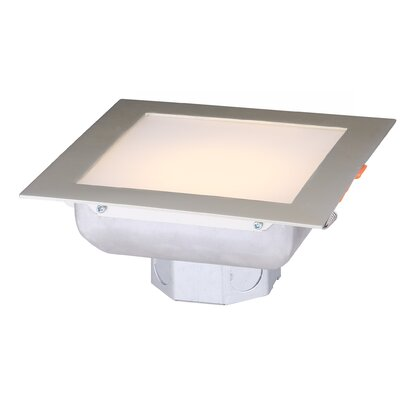 LED Recessed Housing Finish: Brushed Nickel