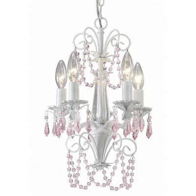 Sasha 5-Light Crystal Chandelier
