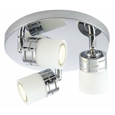 Megan 3-Light Flush Mount