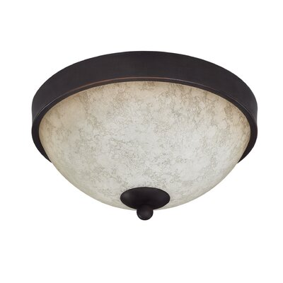 Garza 2-Light Flush Mount (Set of 2)