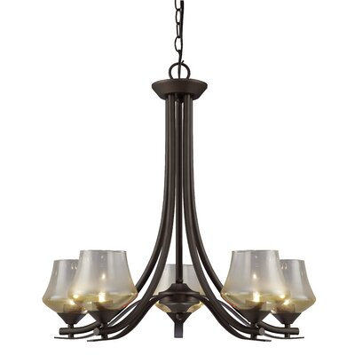 Cooper 5-Light Shaded Chandelier