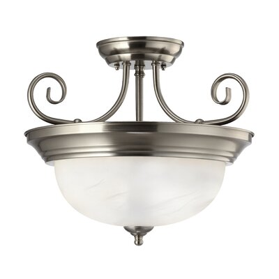 Julianna 2-Light Semi-flush Mount