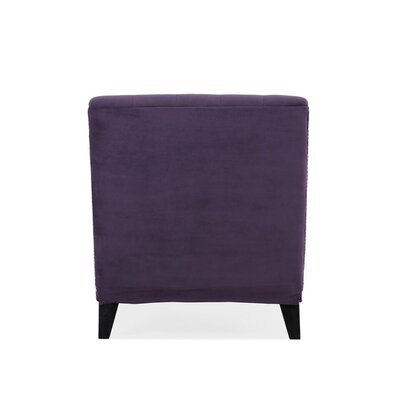 Cordella Chaise Lounge Upholstery: Velvet Plum Purple