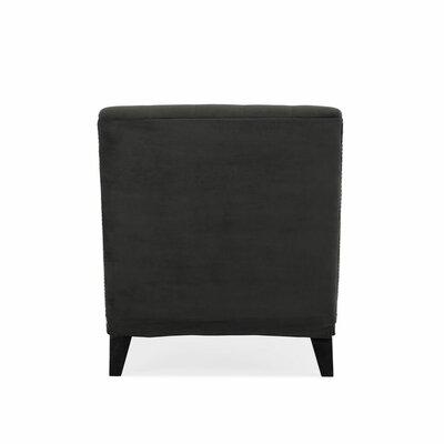Cordella Chaise Lounge Upholstery: Velvet Gray