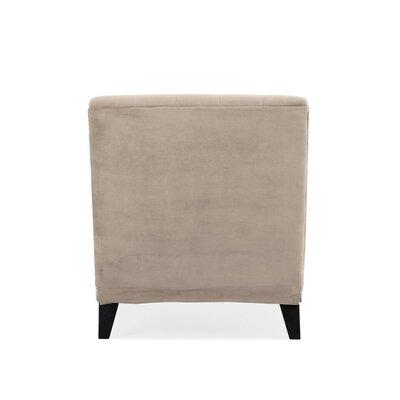 Cordella Chaise Lounge Upholstery: Velvet Oatmeal