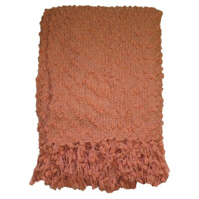 Rockaway Throw Color: Coral