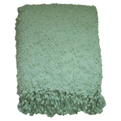 Rockaway Throw Color: Jade