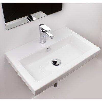 Series 40 24 Wall Mounted Bathroom Sink