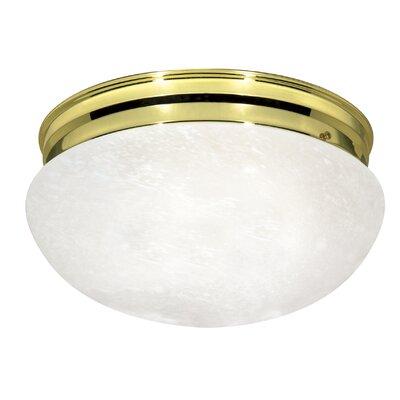 Caesar 2-Light Semi Flush Mount