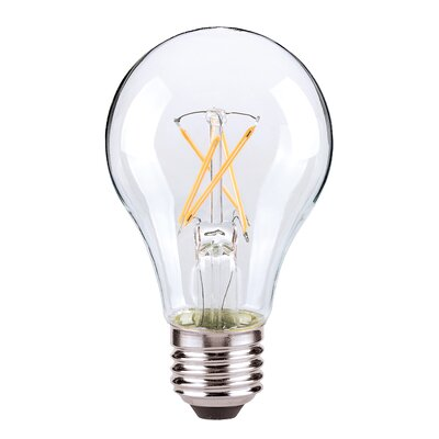 E26/Medium (Standard) LED Vintage Filament Light Bulb Wattage: 5W