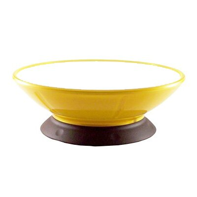 Yellow Lemon Zest Pedestal Dog and Cat Bowl