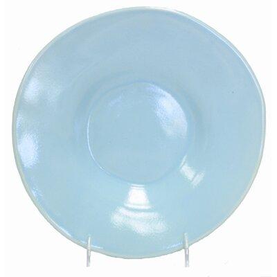 Oversize Round Side Plate Glaze Color-honey
