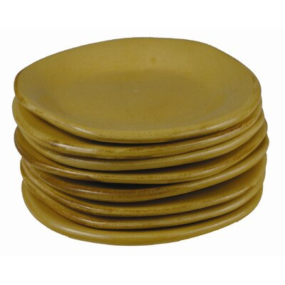 Round Bread And Butter Plate Glaze Color-umber