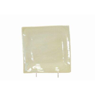 Square Bread And Butter Plate Glaze Color-matte White