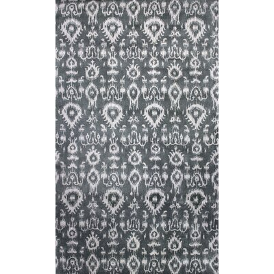 Durrant Hand-Tufted Gray Area Rug Rug Size: 4x 6