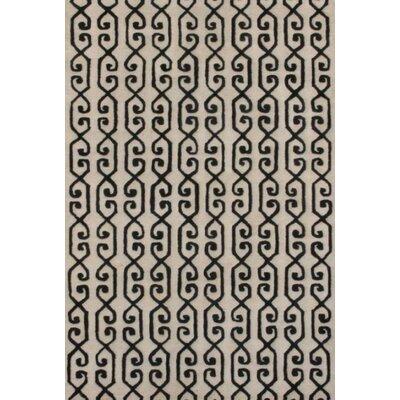 Rhythm Ivory Rug Rug Size: 8' x 11'