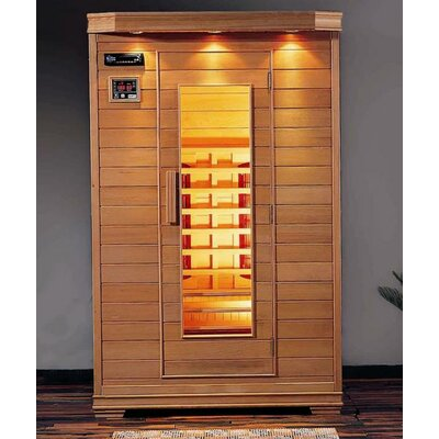 Steam Planet Hemlock Two-Person Infrared Sauna Room at Sears.com