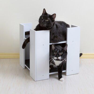 Cubitat Multilevel Cat Bed Color: White