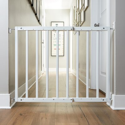 Safety Mate Expandable Pet Gate Finish: White
