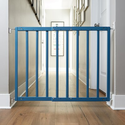 Safety Mate Expandable Pet Gate Finish: Smokey Blue