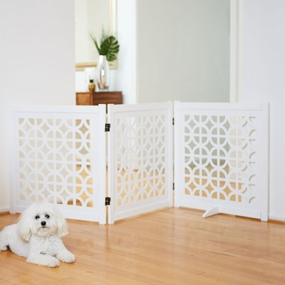 Palm Springs Designer Gate Size: 27 H x 81.5 W x 12.5 D