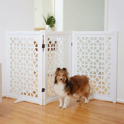 Palm Springs Designer Gate Size: 36 H x 81.5 W x 12.5 D