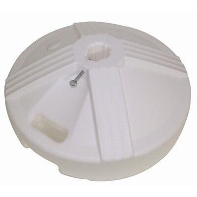 U.V. Polymer Empty Umbrella Base Color: White