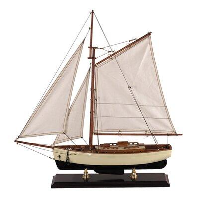 Small 1930s Classic Model Boat
