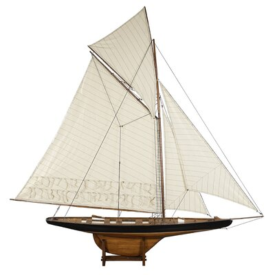 1901 Large America's Cup Columbia Model Boat AS075F