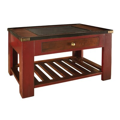 Cheap Authentic Models Collector's End Table in Red (AMD1567)