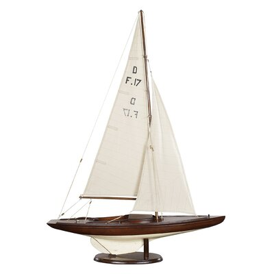 Dragon Olympic Sail Racer Model Boat