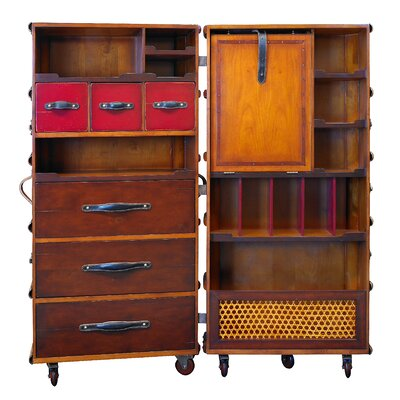 Stateroom Lingerie Chest Color: Black with Honey