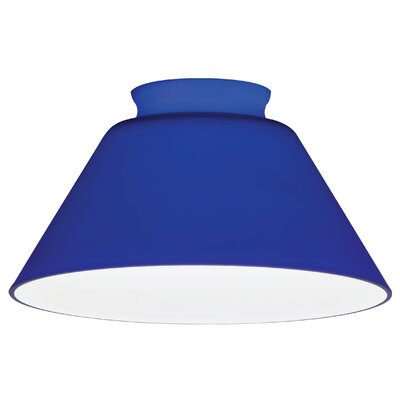 5.58 Glass Empire Pendant Shade Color: Cobalt Blue