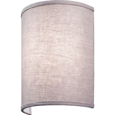 Aberdale LED Wall Sconce Shade Color: Lilac