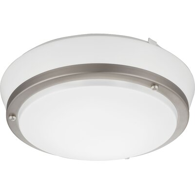 Castleberry Flush Mount Bulb Color Temperature: 4000K