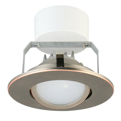 Gimbal Module LED Recessed Retrofit Downlight Finish: Oil Rubbed Bronze