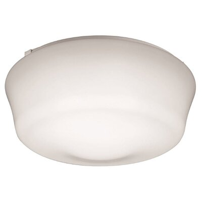 Flush Mount Size: 5 H x 11 W x 11 D, Bulb Color Temperature: 4000K