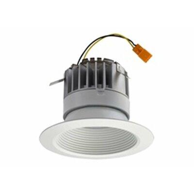 P-Series Recessed Baffle 4 LED Recessed Retrofit Downlight