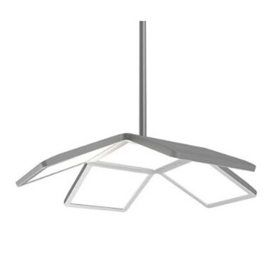 Chalina LED Semi Flush Mount Finish: Brushed Nickel
