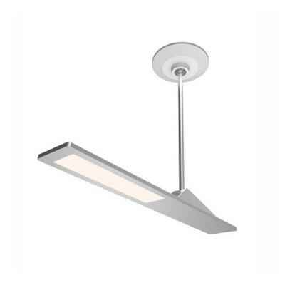 Aedan LED Semi Flush Mount Finish: Brushed Nickel