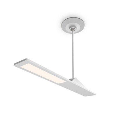 Aedan LED Semi Flush Mount Finish: Semi Gloss White