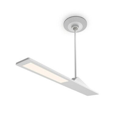 Aedan LED Semi Flush Mount Finish: Semi Gloss White