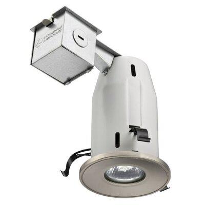 Gimbal LED Recessed Lighting Kit Finish: Brushed Nickel